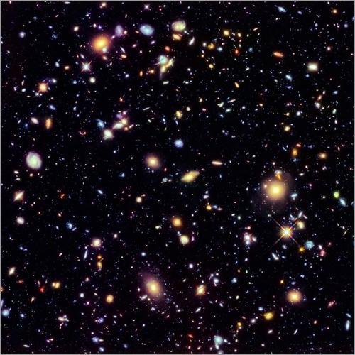 Wall sticker Hubble Extreme Deep Field
