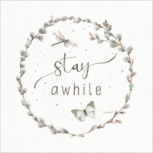 Wall sticker Stay a while