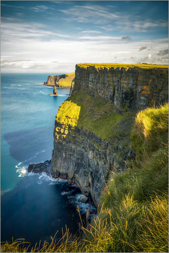 Premium poster Cliffs of Moher in the morning, Ireland
