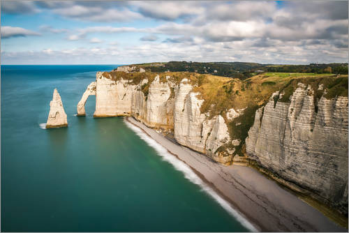 Etretat Normandy France Posters And Prints Posterlounge Com
