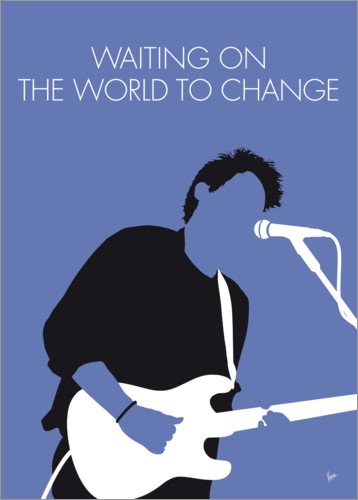 Premium poster John Mayer - Waiting On The World To Change