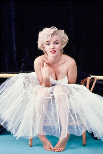 Premium poster Marilyn Monroe in ballet dress