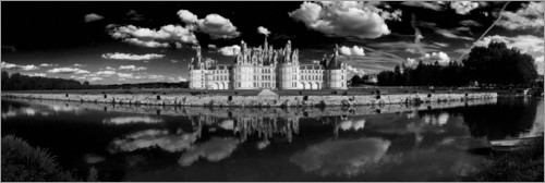 Premium poster Castle Chambord in the Loire Valley, France