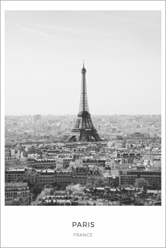 Premium poster Eiffel tower in Paris
