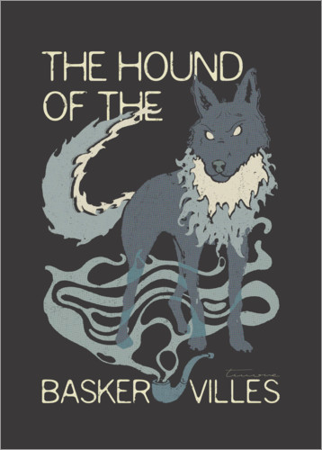 Premium poster The Hound of the Baskervilles