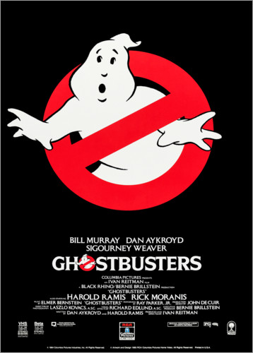 Premium poster Ghoustbusters