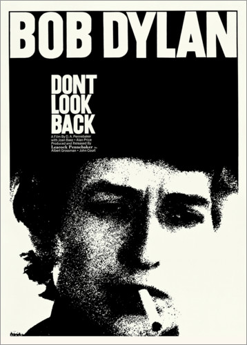 Premium poster Bob Dylan - Don't Look Back