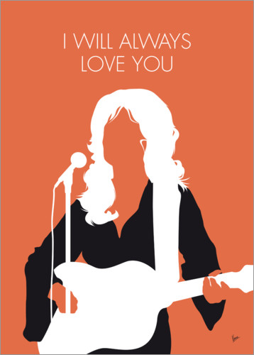 Premium poster Dolly Parton - I Will Always Love You