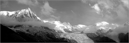 Premium poster View of the French Alps