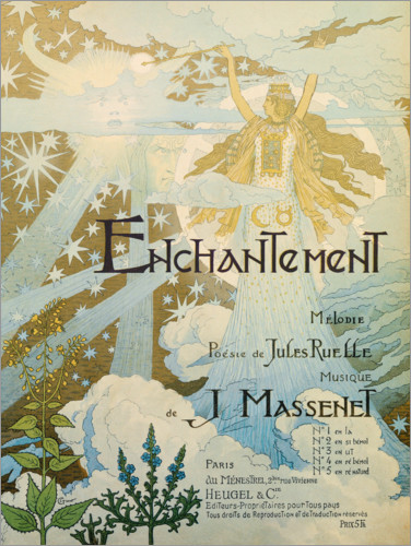 Premium poster Enchanted (French)
