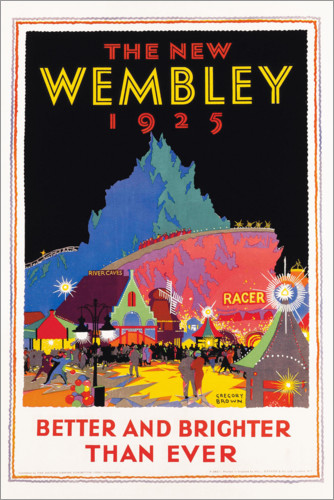 Premium poster The new Wembley 1925