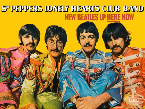 Premium poster Sgt. Pepper's Lonely Hearts Club Band