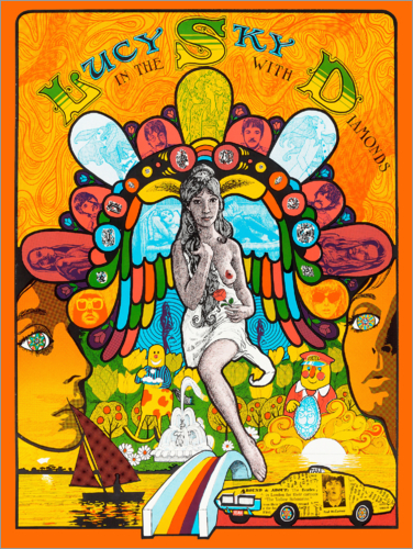 Premium poster Lucy In The Sky With Diamonds