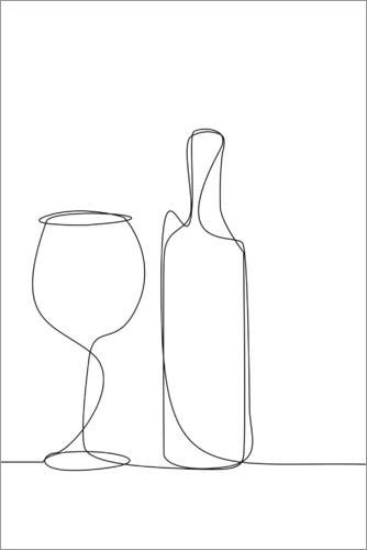 Premium poster A Glass of Wine