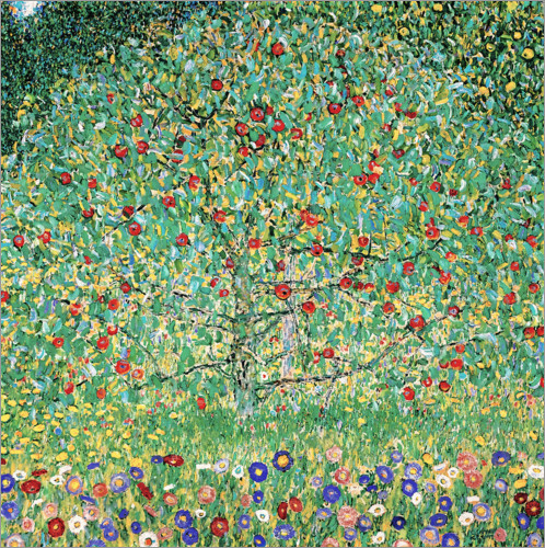 Premium poster Apple Tree I