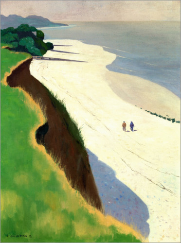 Premium poster The Cliff and the White Shore
