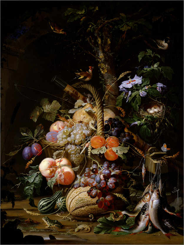 Premium poster Still life of fruit