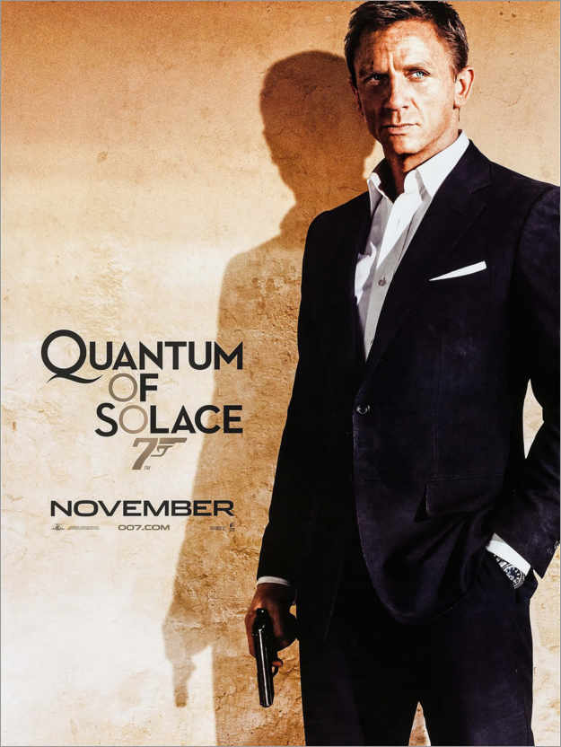 Quantum of Solace Posters and Prints | Posterlounge.com