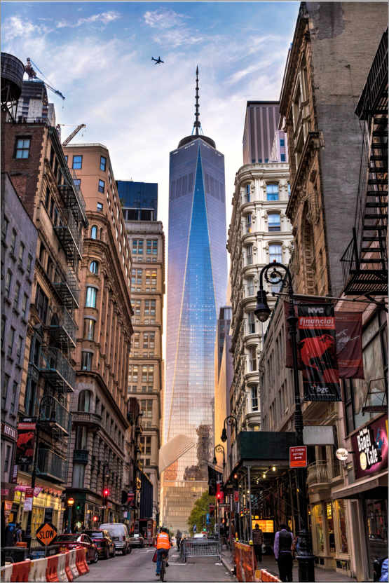 Premium poster One World Tower in New York