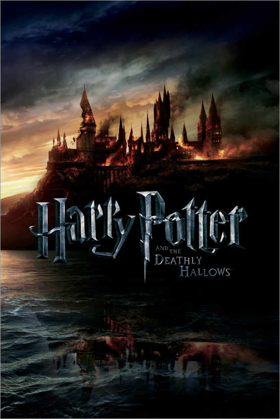 Premium poster The Deathly Hallows II - Hogwarts