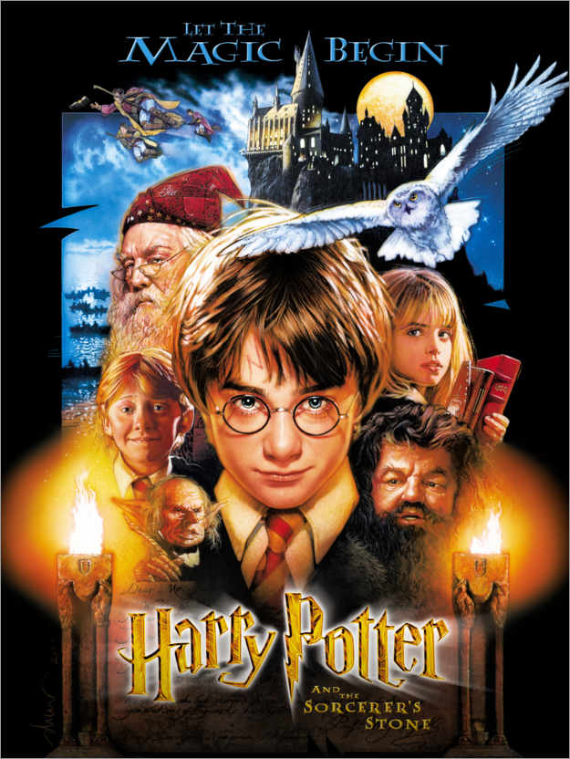 Premium poster Harry Potter and the Sorcerer's Stone