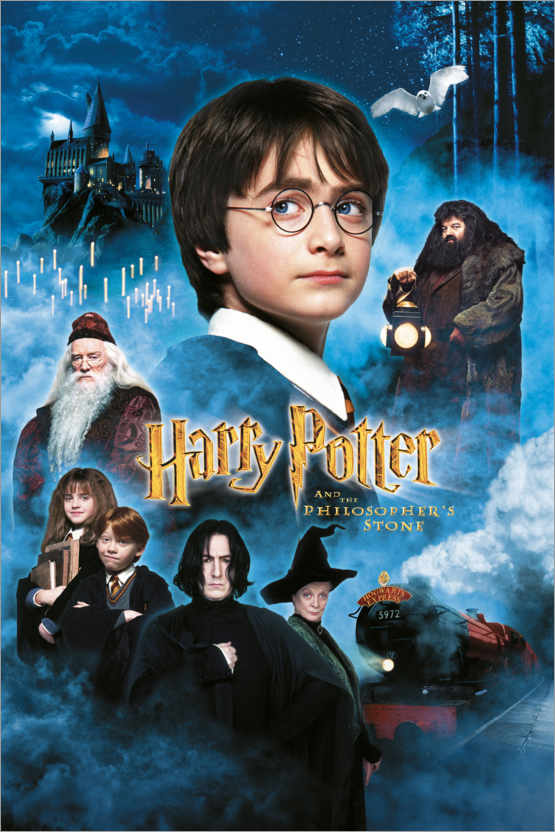 Premium poster Harry Potter and the Philosopher's Stone