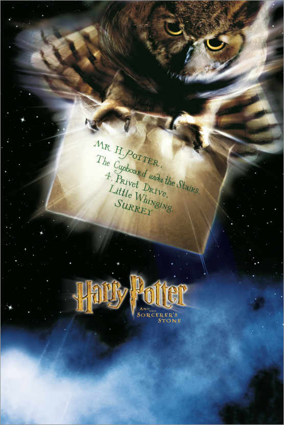 Premium poster The Philosopher's Stone - The Letter