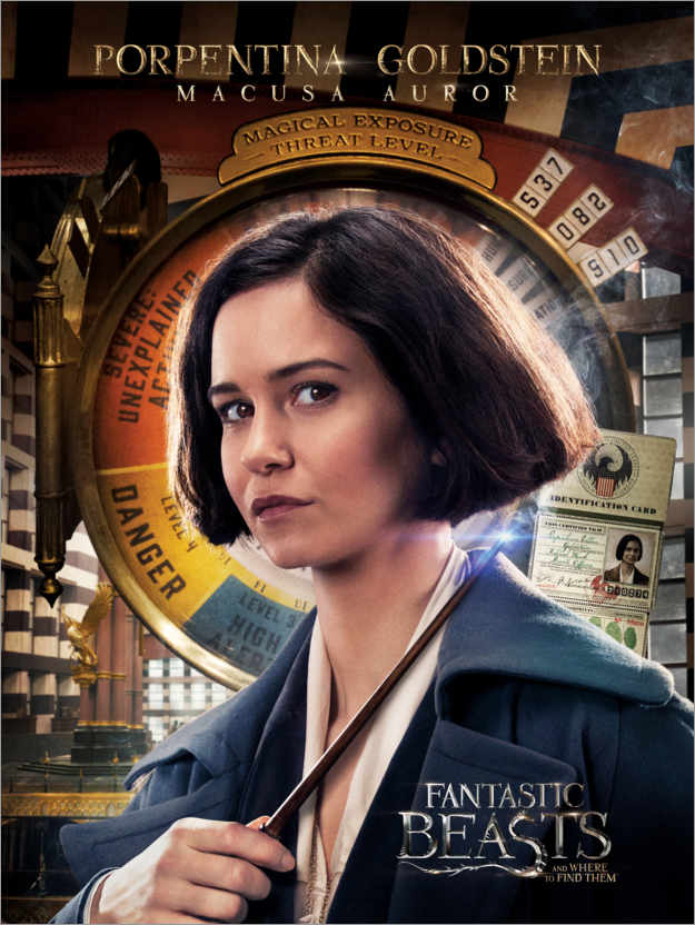 Premium poster Fantastic Beasts and Where to Find Them - Porpentina Goldstein