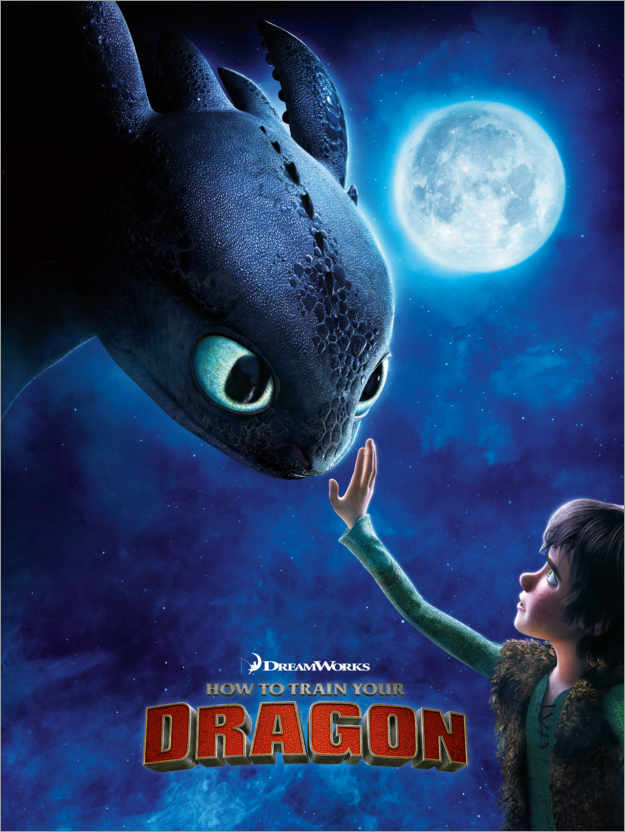 Premium poster How to Train Your Dragon