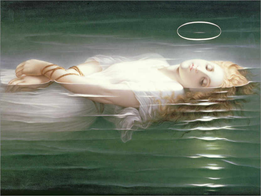 Premium poster The Young Martyr