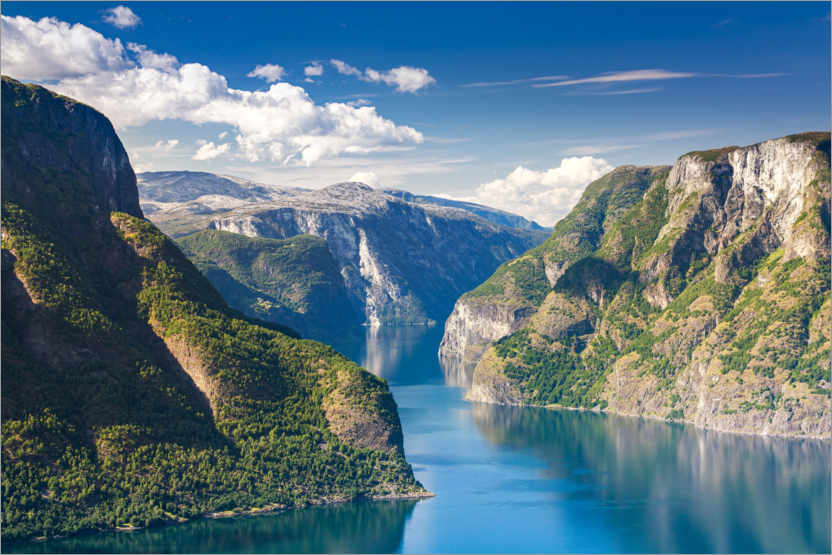 Premium poster Sognefjord - The King of the Fjords