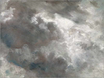 Gallery print  Cloud study - John Constable