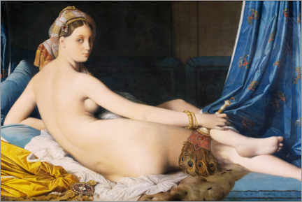 Wall sticker  The Great Odalisque - Jean Auguste Dominique Ingres