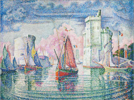 Premium poster  The Port at La Rochelle - Paul Signac