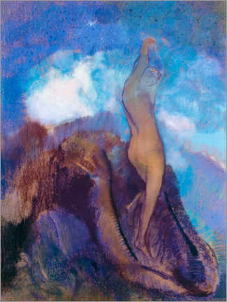 Wall sticker  The Birth of Venus - Odilon Redon