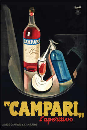 Wall sticker  Campari l'Aperitivo - Marcello Nizzoli