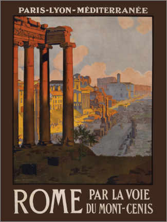 Acrylic print  Rome - Travel Collection
