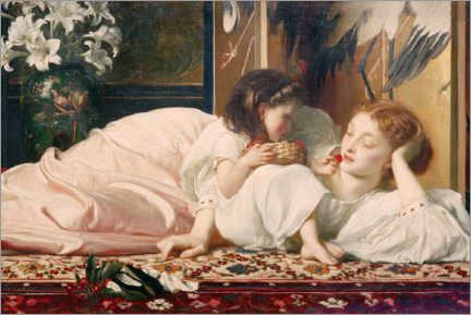 Premium poster  Mother and Child - Frederic Leighton
