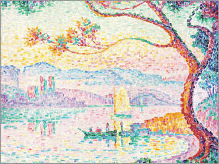 Canvas print  Antibes (Port d'Antibes) - Paul Signac