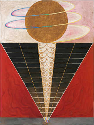 Wood print  No. 2, Altarpiece - Hilma af Klint