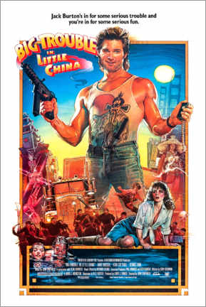 Premium poster Big Trouble in Little China