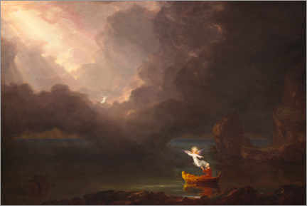 Canvas print  The journey of life: old age - Thomas Cole