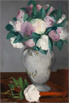 Wall sticker  Peonies - Edouard Manet