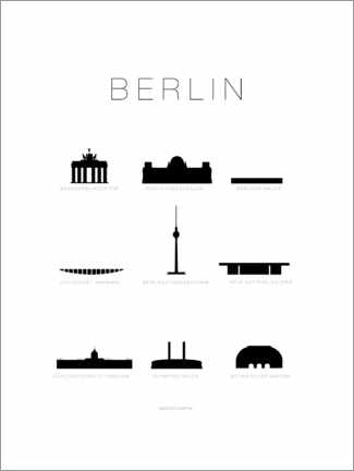 Canvas print  Berlin - Schumff