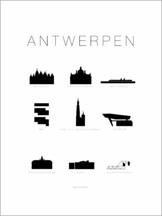 Gallery print  Antwerp (German) - Schumff