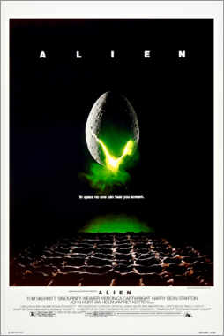 Canvas print  Alien - Entertainment Collection