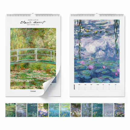 Wall calendar  Claude Monet, Water Lilies 2021 - Claude Monet