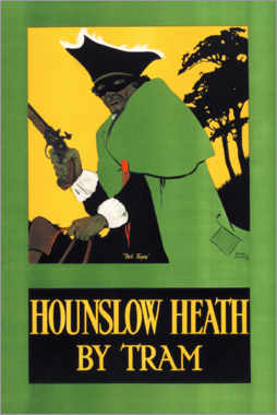 Premium poster  Hounslow heath by tram - Tony Sarg