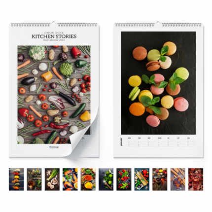 Wall calendar Kitchen Stories 2020