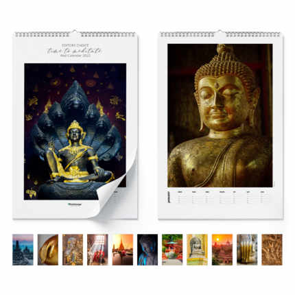 Wall calendar  Time to meditate 2020